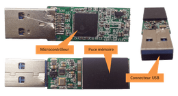 cle-usb-microcontroleur-memoire
